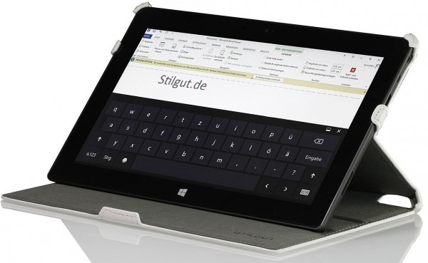 StilGut - UltraSlim Case für Microsoft Surface RT Tablet