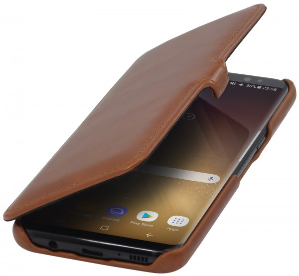 StilGut - Samsung Galaxy S8 Tasche Book Type mit Clip