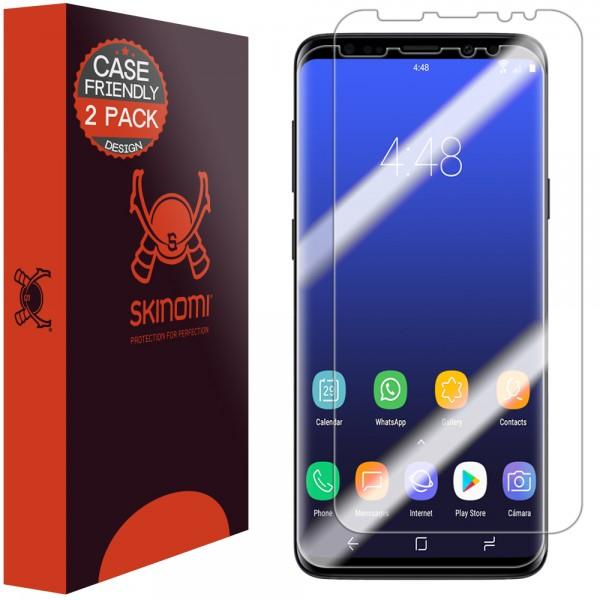 Skinomi - Displayschutzfolie Samsung Galaxy S9 TechSkin