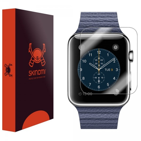 Skinomi - Displayschutzfolie für Apple Watch 42 mm (6er Pack) TechSkin