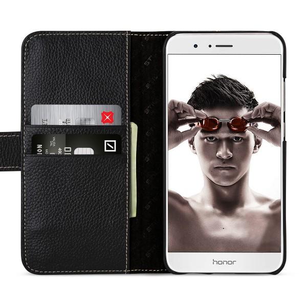 StilGut - Honor 8 Pro Hülle Talis mit Kreditkartenfach