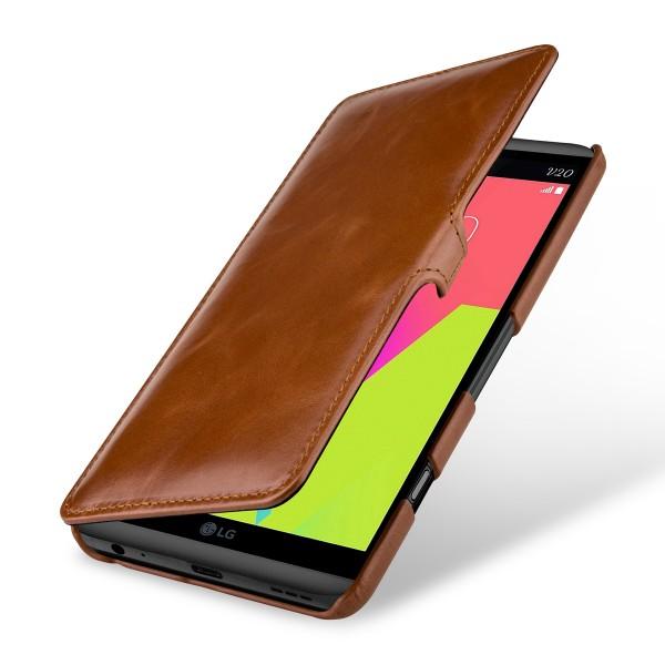 StilGut - LG V20 Tasche Book Type mit Clip
