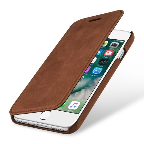 StilGut - iPhone 8 Case Book Type ohne Clip