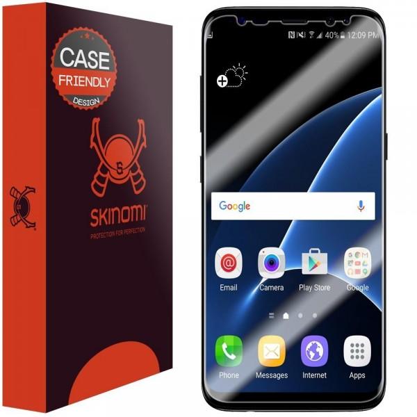 Skinomi - Displayschutzfolie Samsung Galaxy S8+ TechSkin