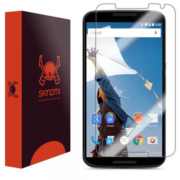 Skinomi - Displayschutzfolie Nexus 6 TechSkin