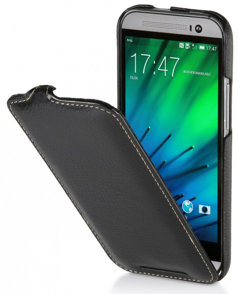 StilGut - UltraSlim Case für HTC One M8 / M8s aus Leder
