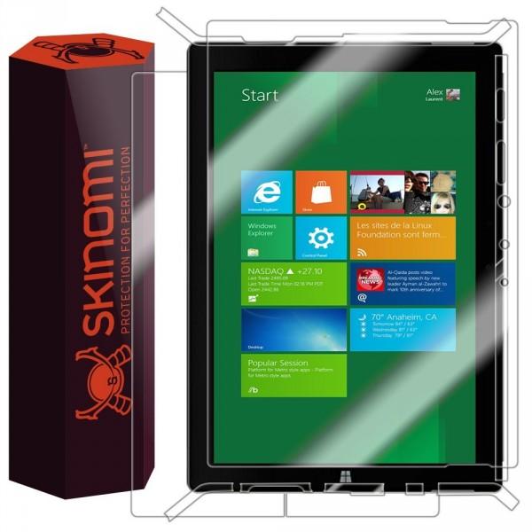 Skinomi – Displayschutzfolie für Surface 3 TechSkin für Vorder- und Rückseite