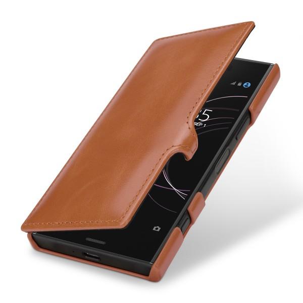 StilGut - Sony Xperia XZ1 Compact Tasche Book Type mit Clip