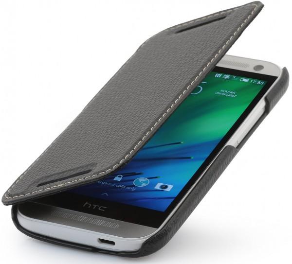 """StilGut - Ledertasche """"Book Type"""" für HTC One mini 2"""