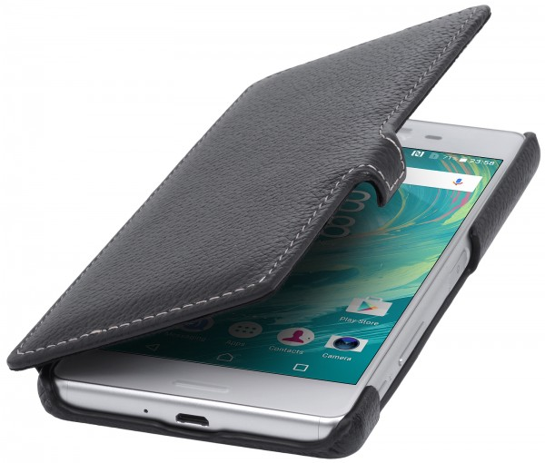 StilGut - Sony Xperia X Performance Tasche Book Type mit Clip