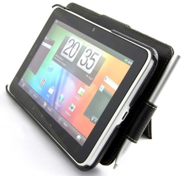StilGut - Exkl. Ledertasche für HTC Flyer Tablet