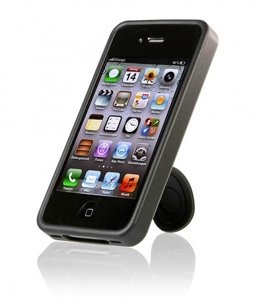 StilGut - Hülle mit Standfunktion für iPhone 4 & iPhone 4s