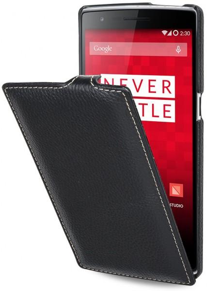 """StilGut - Handyhülle für OnePlus One """"UltraSlim"""" aus Leder"""