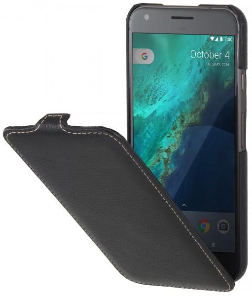 StilGut - Google Pixel XL Hülle UltraSlim aus Leder