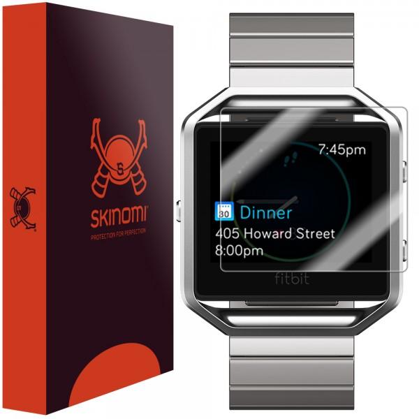 Skinomi - Displayschutzfolie Fitbit Blaze (6er Pack)