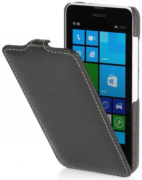 StilGut - UltraSlim Case für Nokia Lumia 630 & 635 aus Leder
