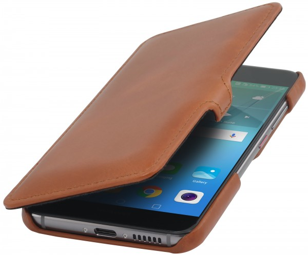 StilGut - Huawei nova Tasche Book Type mit Clip