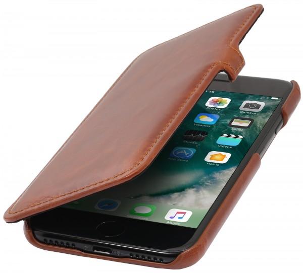 StilGut - iPhone 7 Tasche Book Type mit Clip