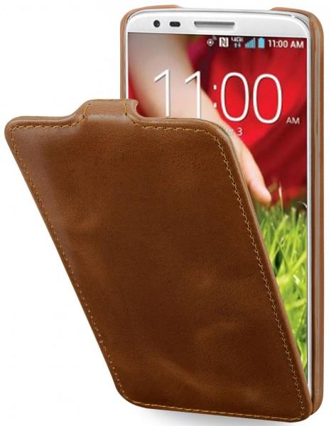 StilGut - UltraSlim Case für LG G2 aus Leder