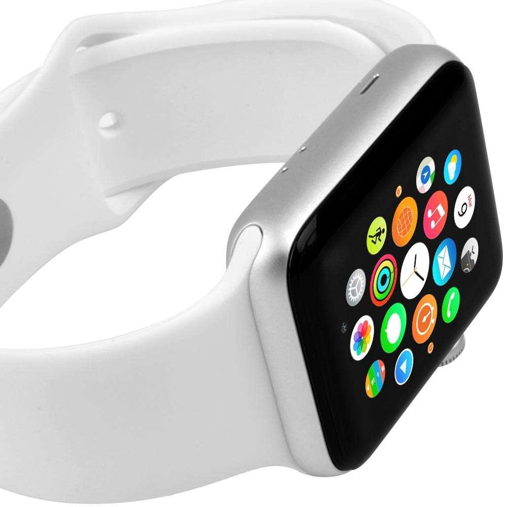 Ключевой элемент управления watch — колёсико digital crown в новом поколении часов получило тактильную отдачу, а также используется во время снятия экг.
