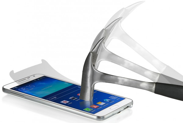 StilGut - Displayschutzfolie Panzerglas für Samsung Galaxy Note 3 Neo