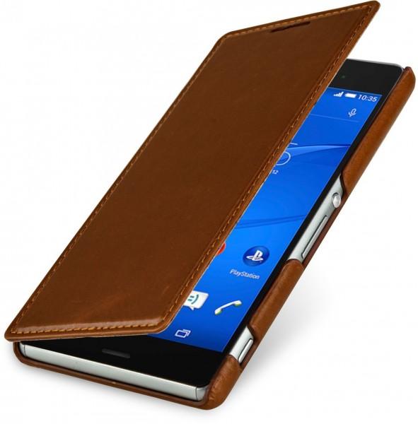 """StilGut - Handyhülle für Sony Xperia Z3 """"Book Type"""" ohne Clip"""