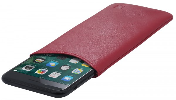 StilGut - Smartphone Sleeve aus Leder XL