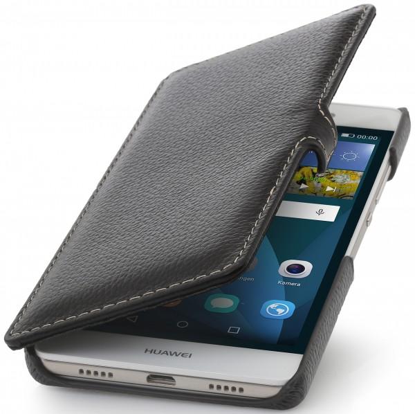 """StilGut - Handyhülle für Huawei P8 Lite """"Book Type"""" mit Clip"""