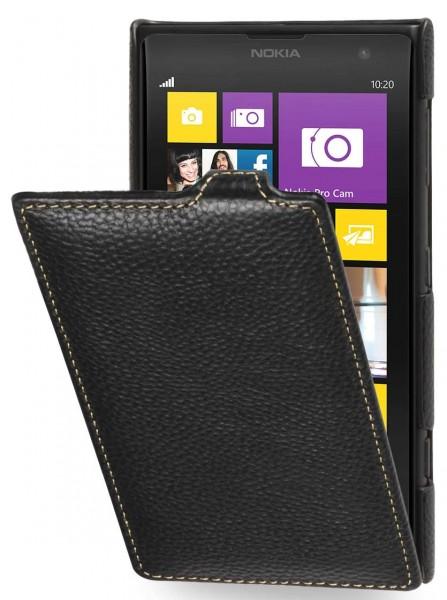 StilGut - UltraSlim Case für Nokia Lumia 1020 aus Leder
