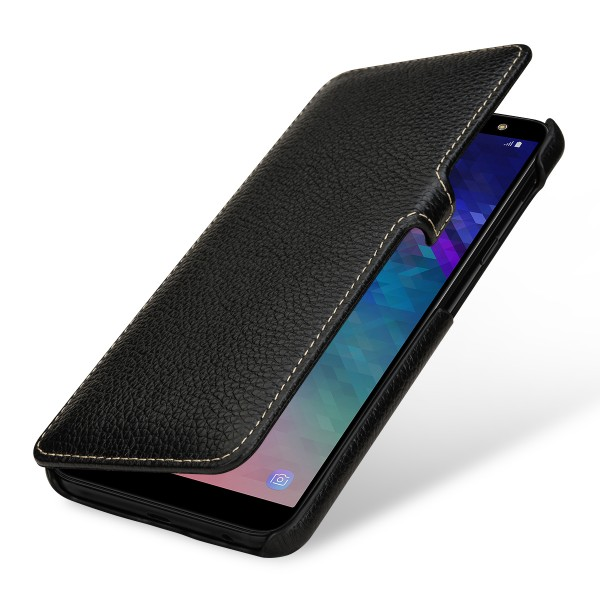Samsung Galaxy A6 Plus 2018 Tasche Book Type Aus Leder Stilgut