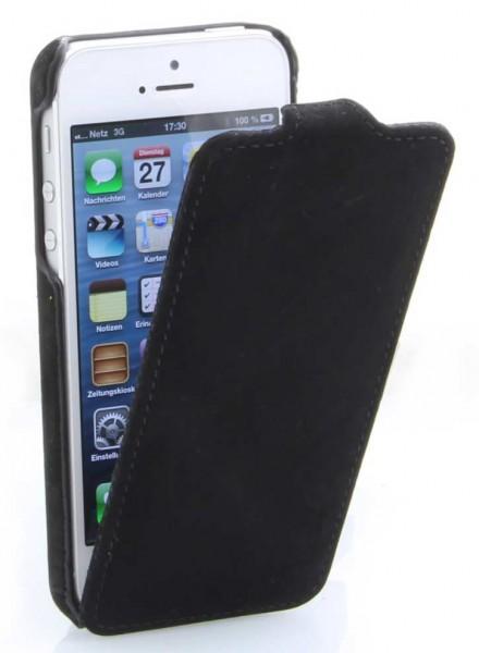 StilGut - UltraSlim Case für iPhone 5 & iPhone 5s aus Leder