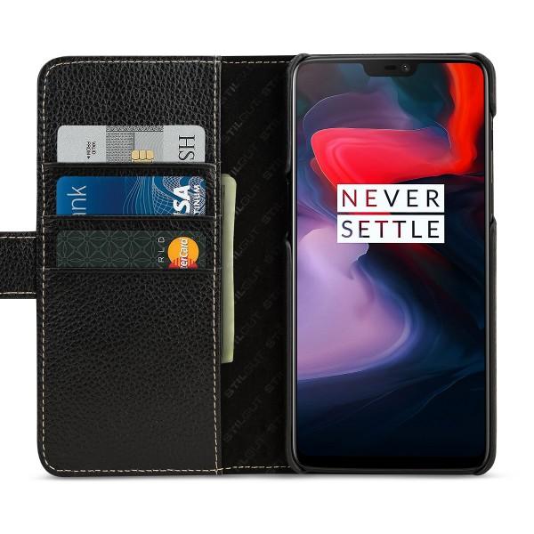 StilGut - OnePlus 6 Hülle Talis mit Kreditkartenfach