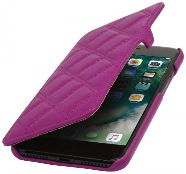 StilGut - iPhone 7 Tasche Book Type mit Clip Karat